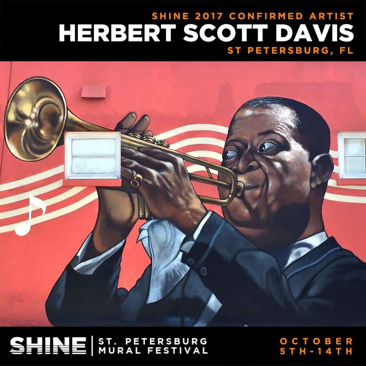 SHINE artist - Hebert Scott Davis