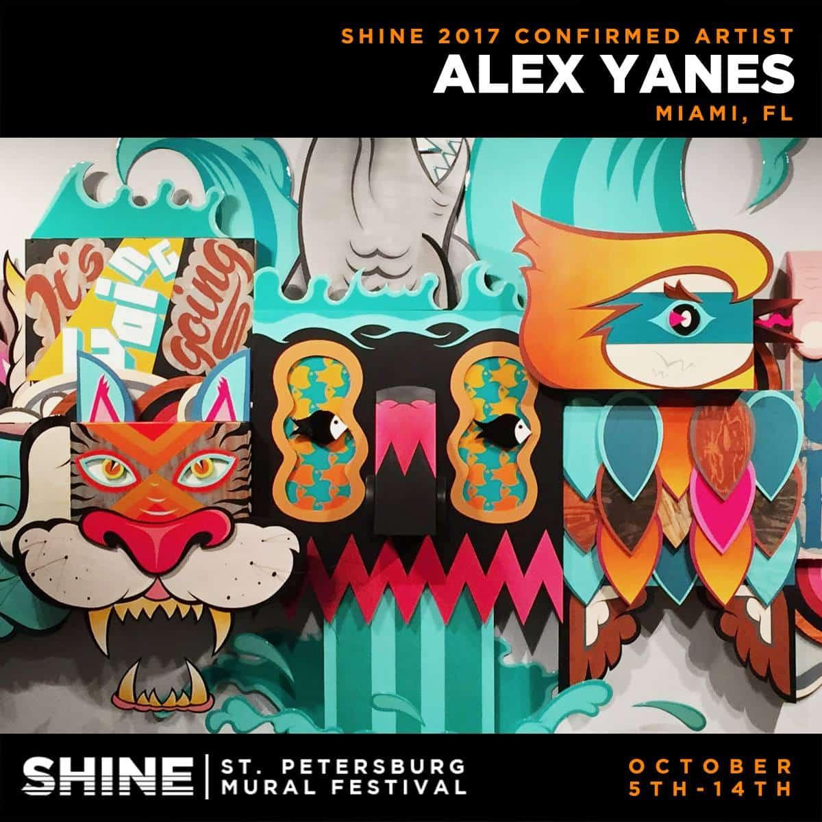 SHINE artist - alex yanes