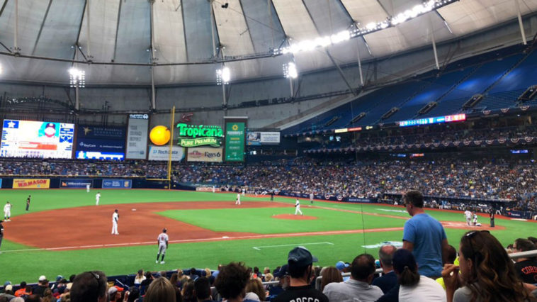 Inside Tropicana Field