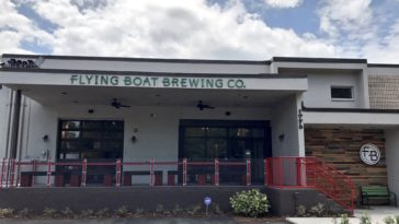 Outside Flying Boat Brewing
