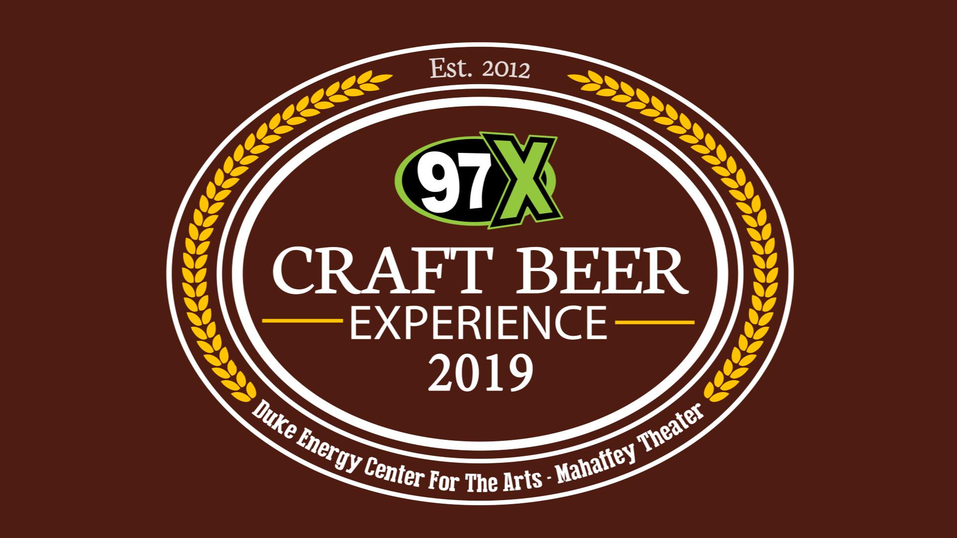 97X Craft Beer Experience Flyer