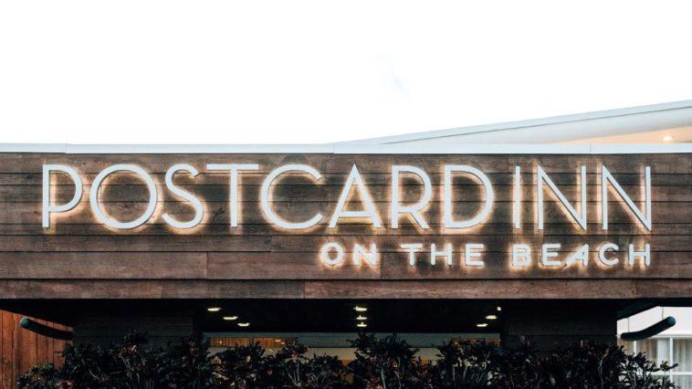 Exterior of the Postcard Inn