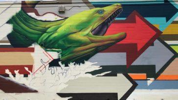 Mural Eel