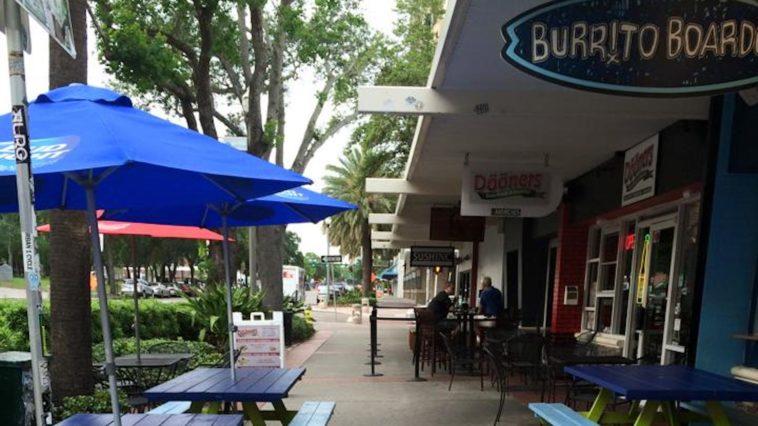 Photo outside Burrito Boarder in St. Petersburg