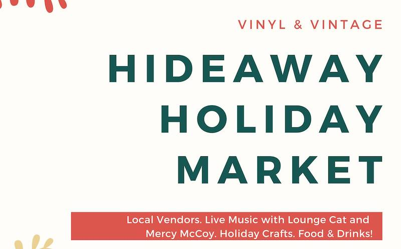 Graphic for a local holiday market