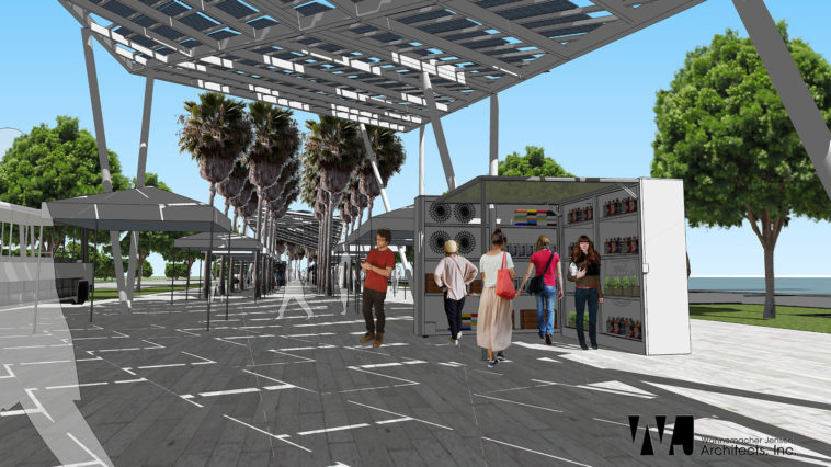 New St. Pete Pier Marketplace Rendering