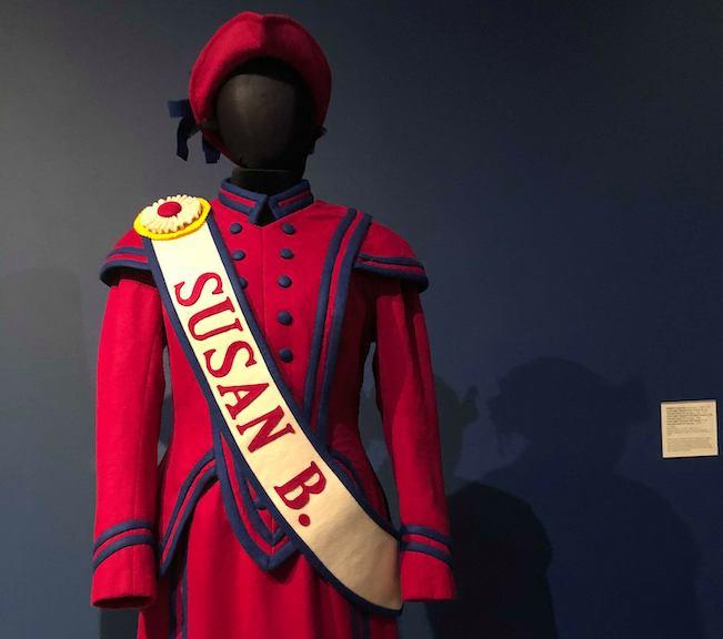 Susan B Anthony Costume
