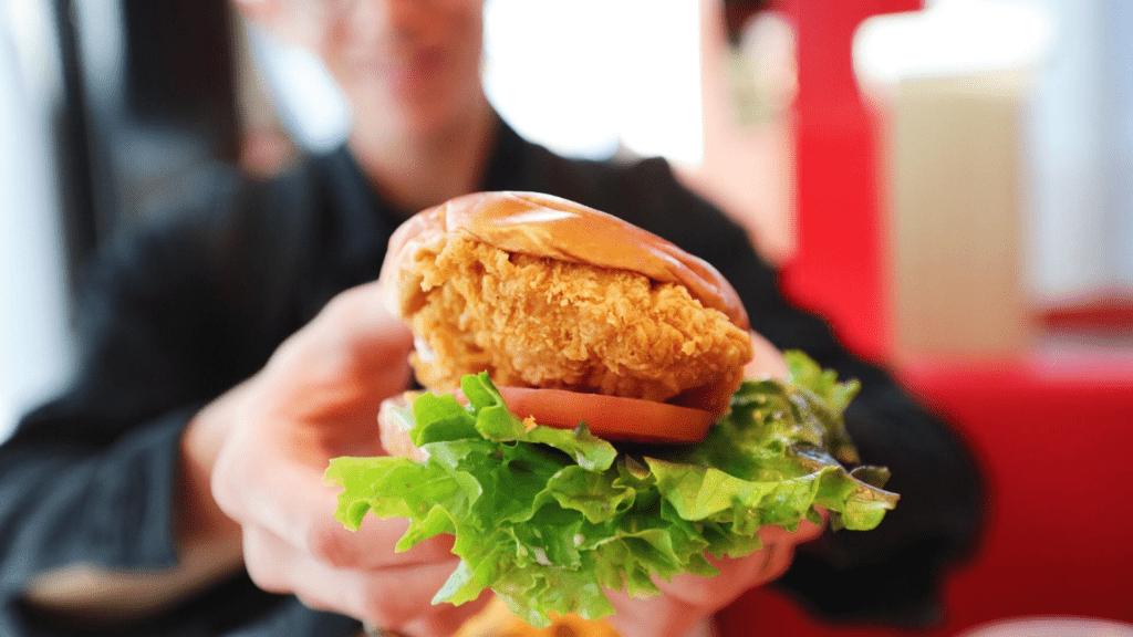 Jollibee Fried Chicken Sandwich