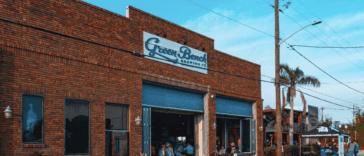 Green Bench exterior
