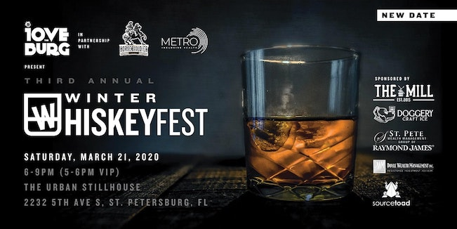Graphic for Winter WhiskeyFest at St. Pete