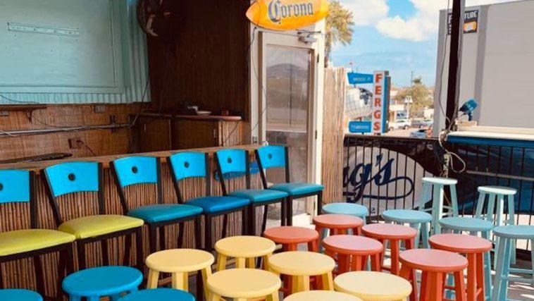 Exterior of new tiki bar