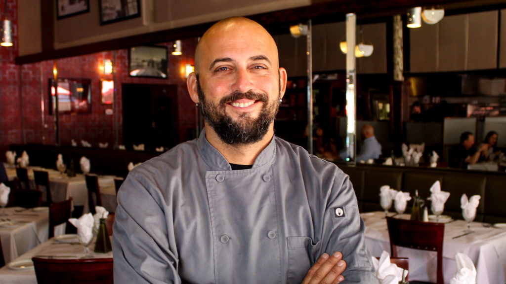Photo of a Gratzzi owner and chef