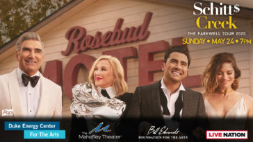 Photo of our actors in front of the Rosebud Motel