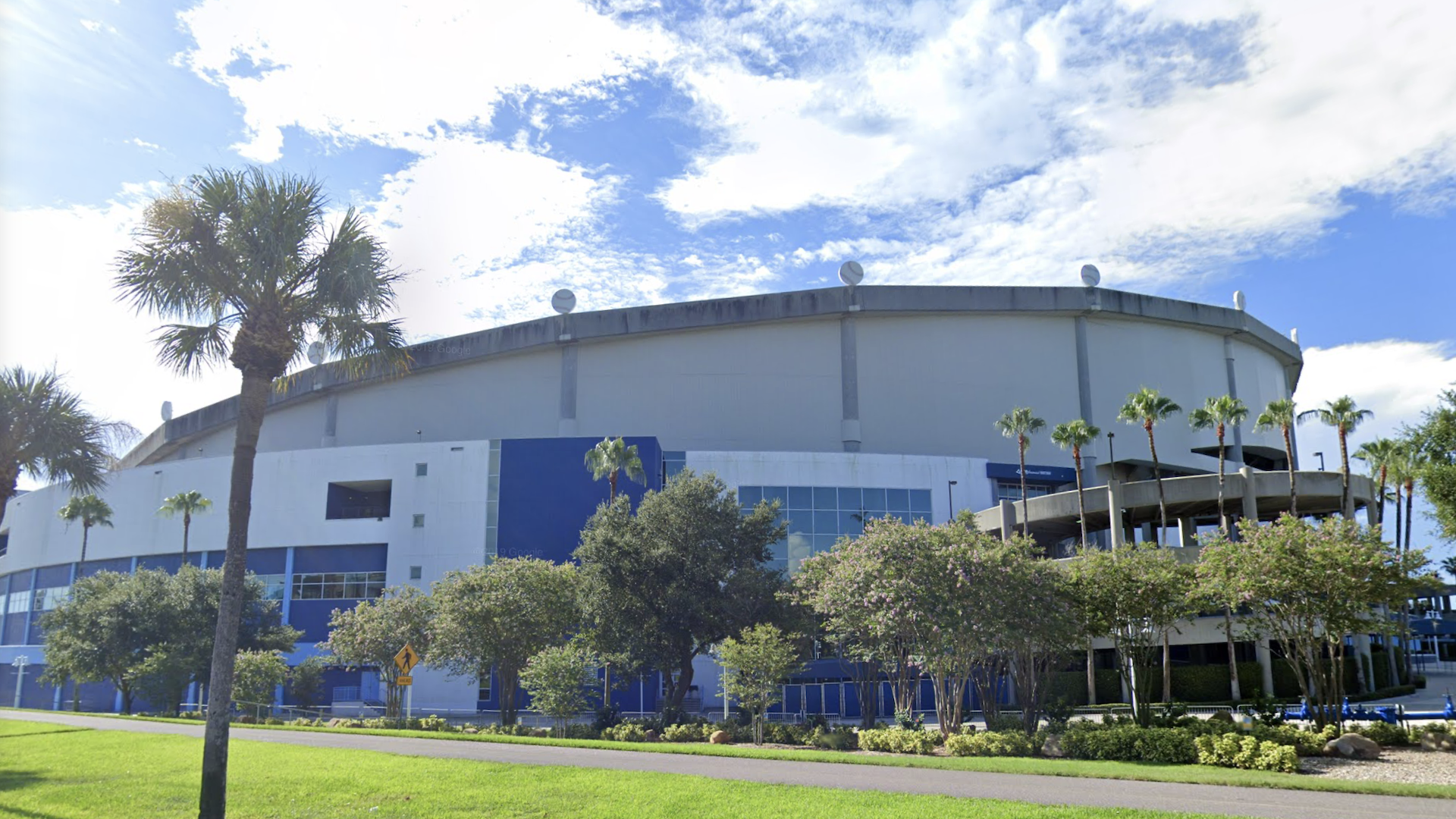 Exterior of Tropicana Field