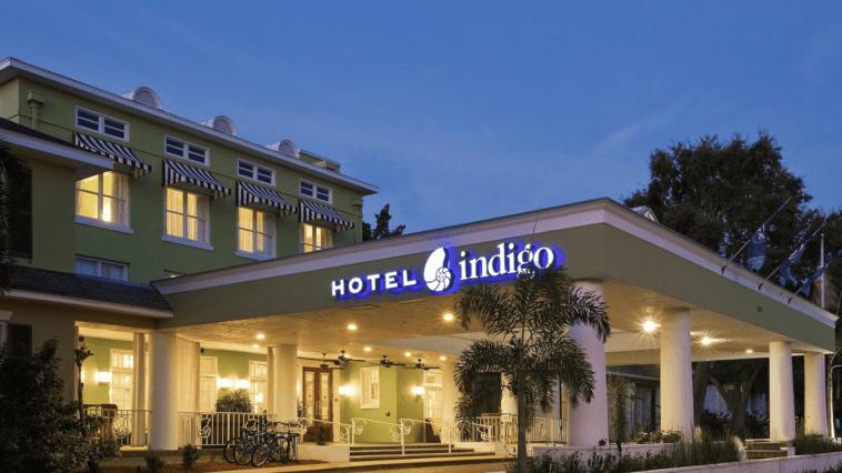 Exterior photo of Hotel Indigo
