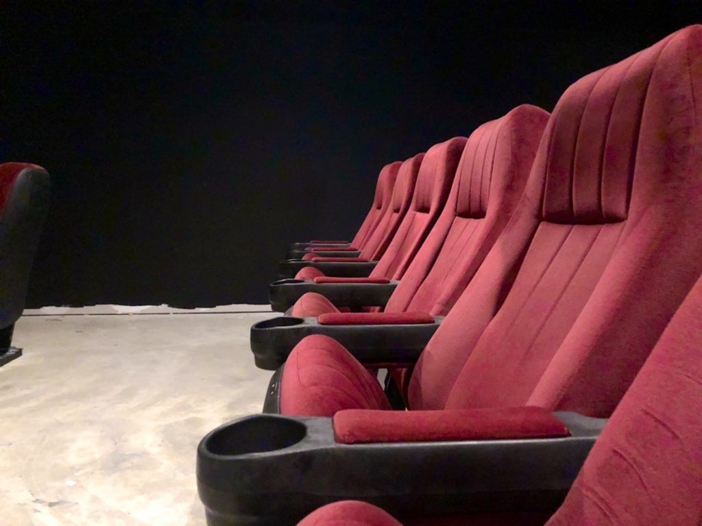 Image of movie theater seats
