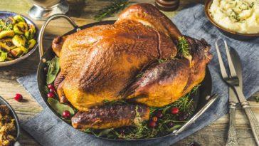 Photo of a smoked turkey
