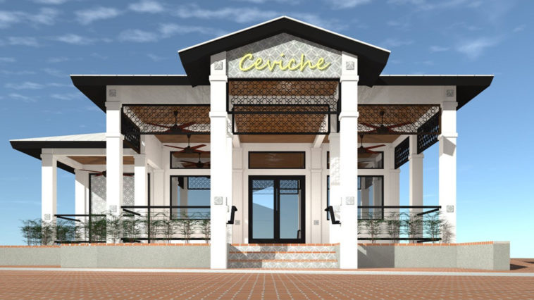 Image of Ceviche Restaurant's renovation rendering