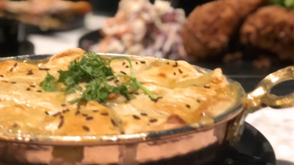 Image of pot pie from Social Roost