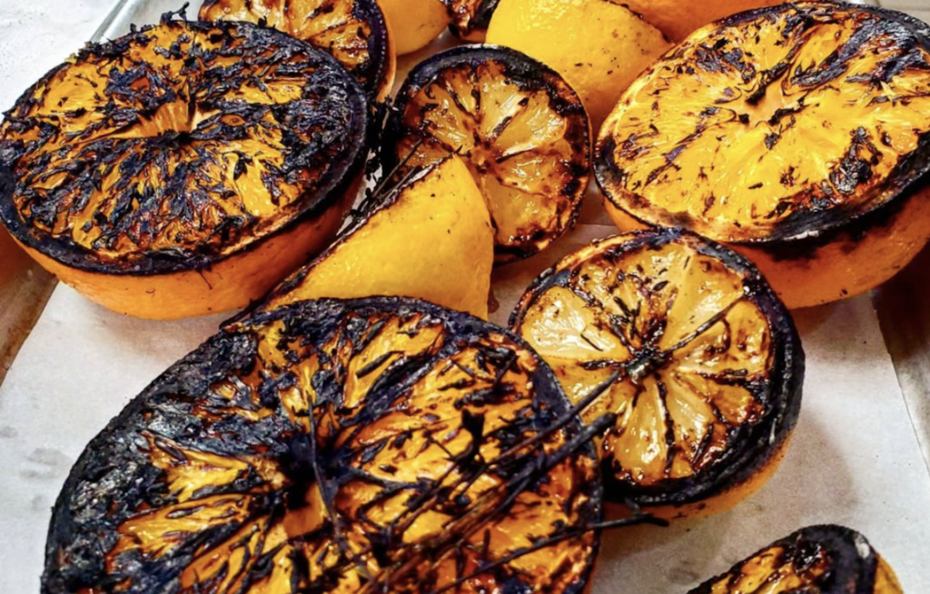 photo of cooked citrus slices